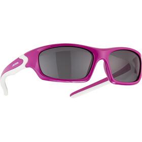 Alpina Flexxy Teen Glasses Youth berry-white